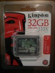 32 GB CF Kingston card
